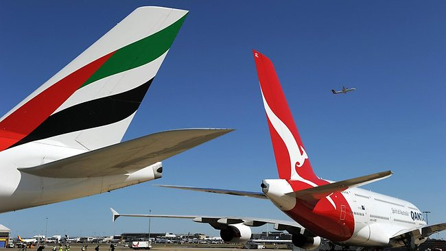fly:澳航往返欧洲的飞机餐弃猪肉!