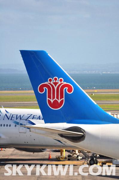 中国南方航空公司开通广州到奥克兰直航服务