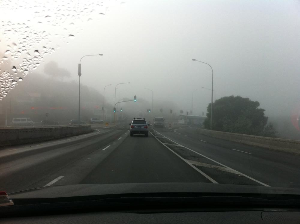 今早奥克兰地区大雾 机场部分航班被取消或延误