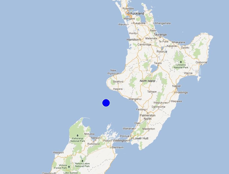 【突发】新西兰北岛西岸附近海域发生7.0级地震
