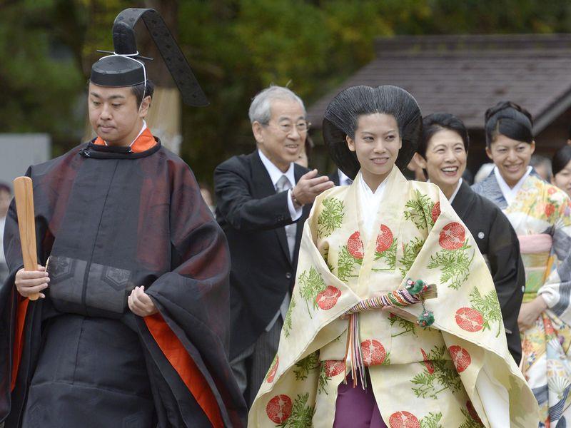 26岁日本典子公主出嫁 不再是日本皇族图片